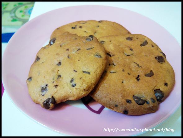 巨無霸巧克力豆餅乾-1