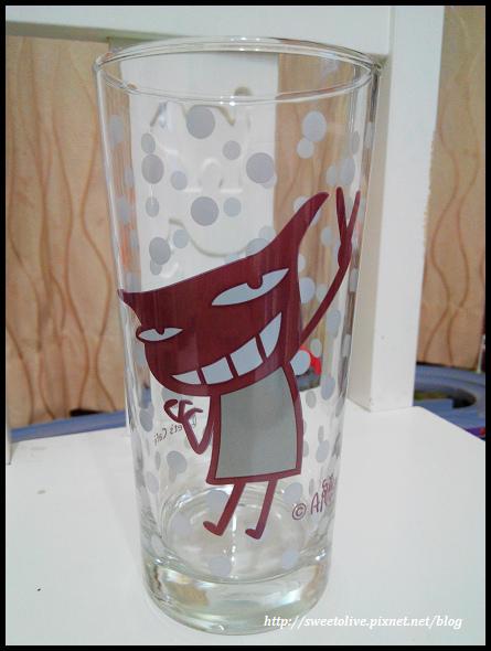 阿朗基點點玻璃杯-5