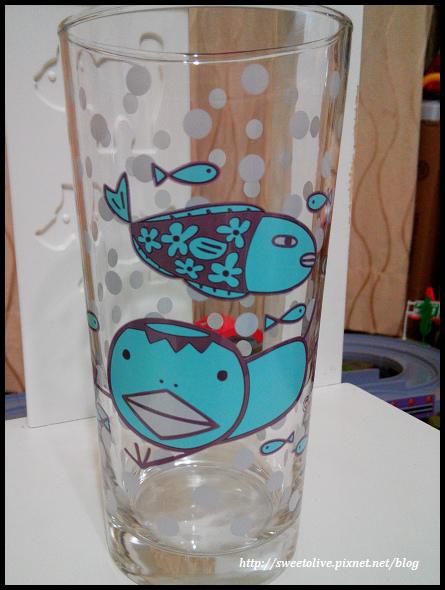 阿朗基點點玻璃杯-7