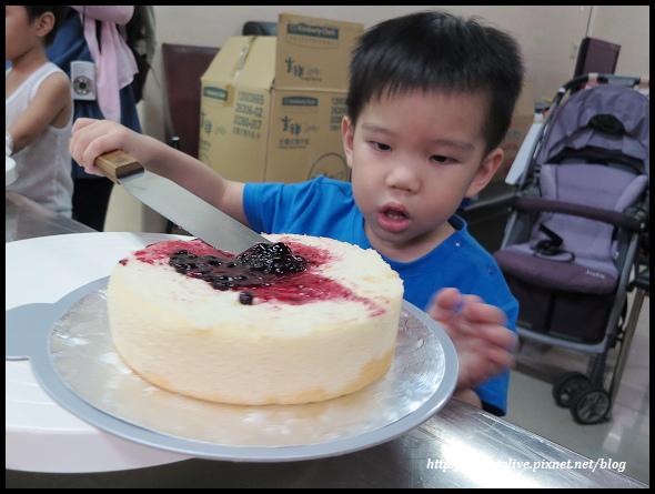 20140830 兔寶生日蛋糕DIY@義美-33