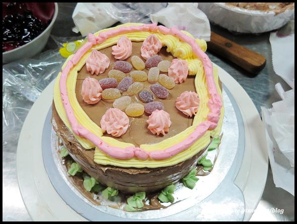 20140830 兔寶生日蛋糕DIY@義美-36