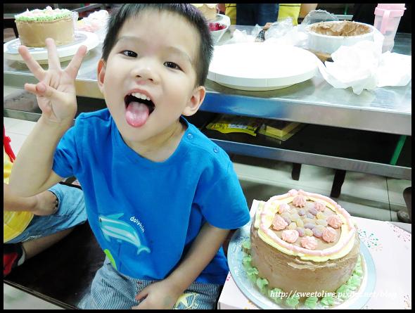 20140830 兔寶生日蛋糕DIY@義美-37