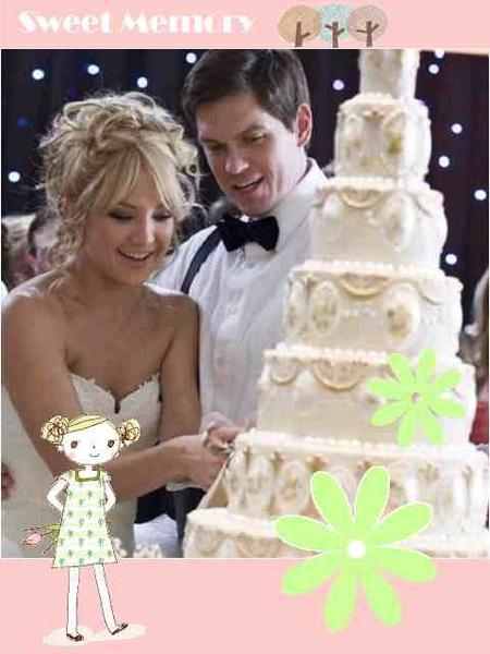 電影新娘大作戰的結婚蛋糕