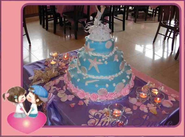 主題之星 婚禮蛋糕《海派甜心》
