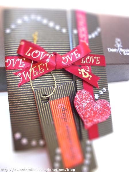 情人節卡片 《心‧情‧愛》