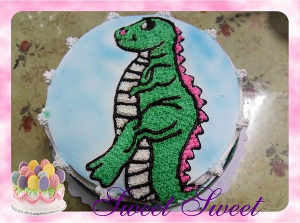 造型蛋糕《恐龍》