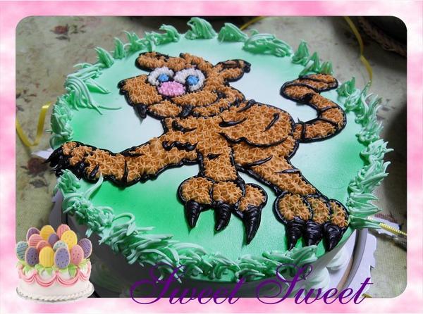 造型蛋糕《老虎》