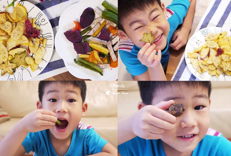 【宅配美食】i3Fresh爱上新鲜 - 健康零嘴 | 24小时快速出货 ღ果乾.蔬果脆片ღ