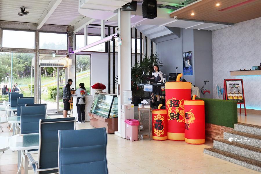 海灣星空景觀咖啡館