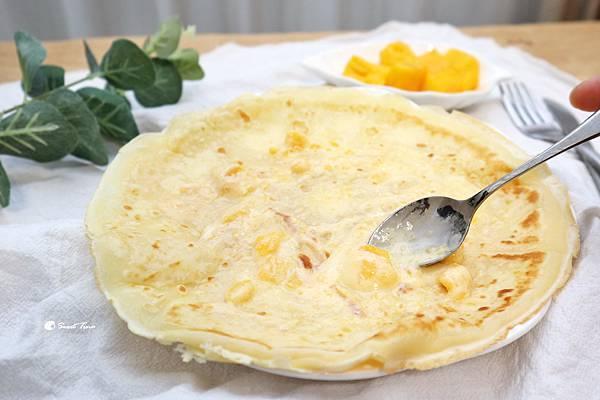 手作法式薄餅