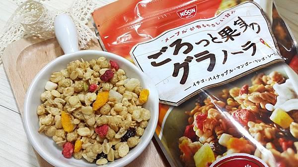 日清水果麥片