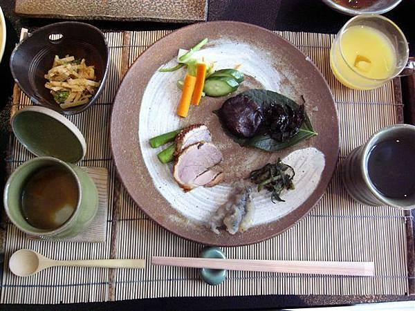 朝食の前菜