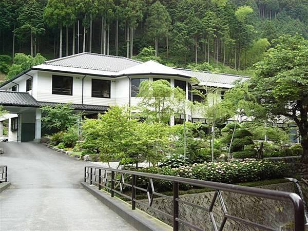 旅館の外観