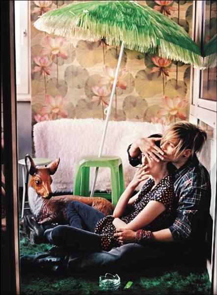 艾芭羅爾瓦雀(左)和文森茲凱佛在《罪愛妳》當中的愛情甜蜜勇敢,讓人動容。