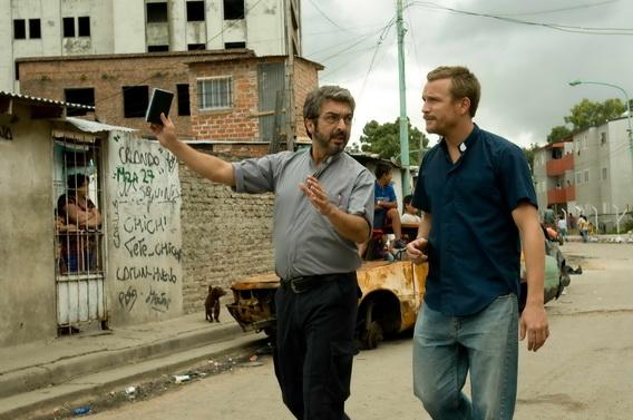 《謎樣的雙眼》阿根廷影帝瑞卡多達倫(Ricardo Darin, 左)和《騎單車的男孩》比利時影帝傑若米何涅(Jeremie Renier)聯手扮演神父