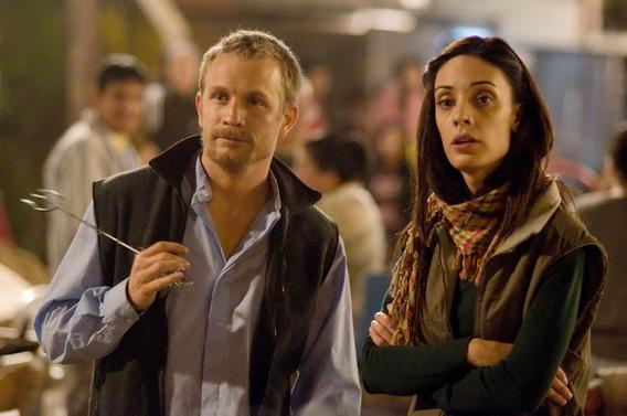 傑若米何涅《白象》片中和該片女星、也是導演之妻馬蒂娜古斯曼(Martina Gusman)大談了一場禁戀