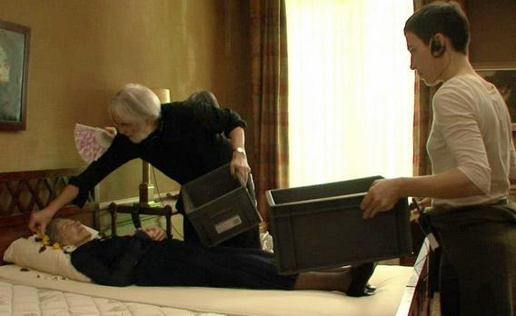 圖02 《漢內克的導演秘密》鏡頭內外的極端