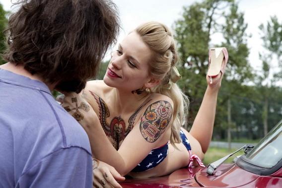 薇拉貝登絲為愛刺青《愛的餘燼》歐洲奧斯卡封后