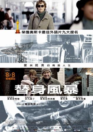替身風暴 中文海報
