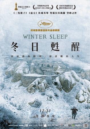 冬日甦醒 中文海報