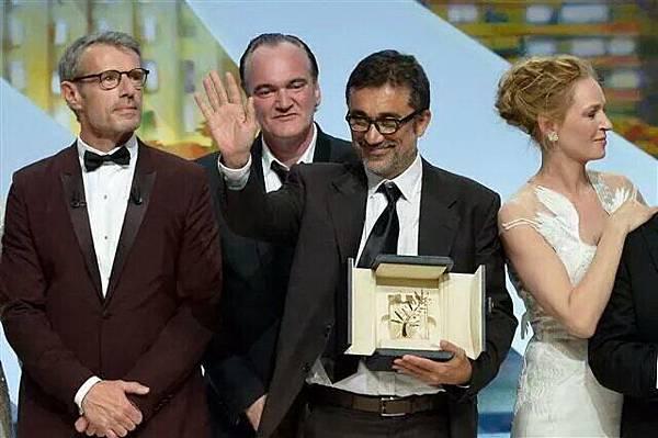 藍柏威爾森去年為勇奪坎城影展金棕櫚獎的電影《冬日甦醒》(Winter Sleep)致上介紹詞
