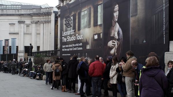 《歡迎光臨國家畫廊》全片透過一場千載難逢的特展「達文西:畫室之旅」展開