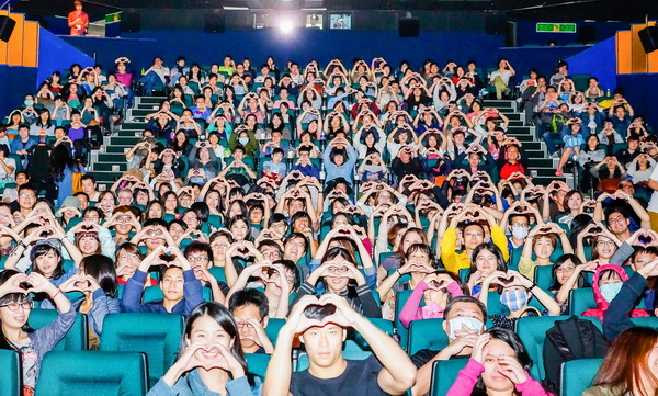 金馬奇幻400觀眾聯手示愛《貝禮一家》手語洩房事笑爆全場