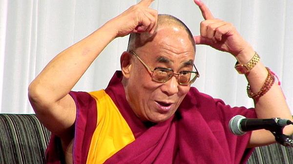 達賴頑皮扮夜叉《達賴喇嘛14世》「中國把我妖魔化!」
