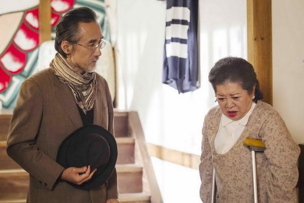陳淑芳《五星級魚干女》演出日式旅店老闆娘,為一場往日戀曲, 她用Line惡補近百句日語