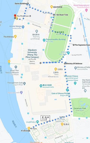 大皇宮散步路線