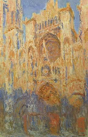 Claude_Monet_-_Rouen_Cathedral,_Facade_(Sunset)