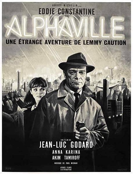 Godard電影Alphaville的海報