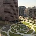 國貿大樓的花園廣場