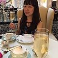 在Savoy裡面吃英式下午茶