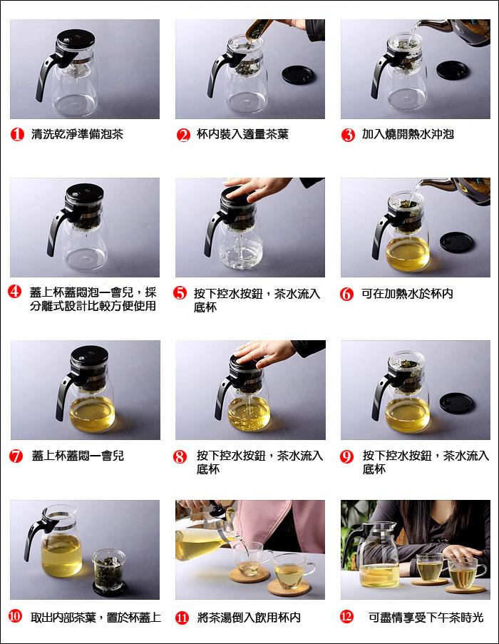 普洱茶泡茶步驟