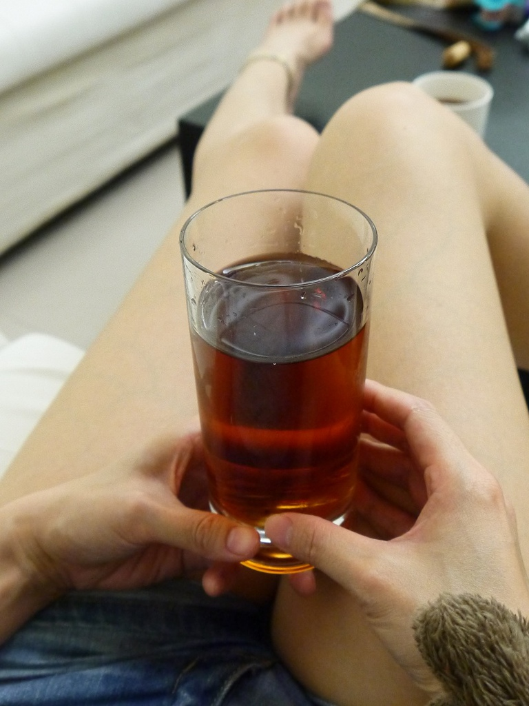 我的有機藍莓即溶普洱茶試喝分享