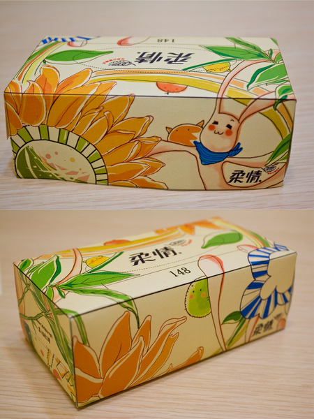 面紙盒設計
