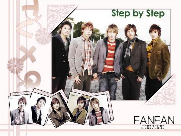 step by step~