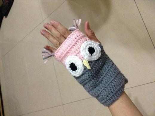 貓頭鷹手套