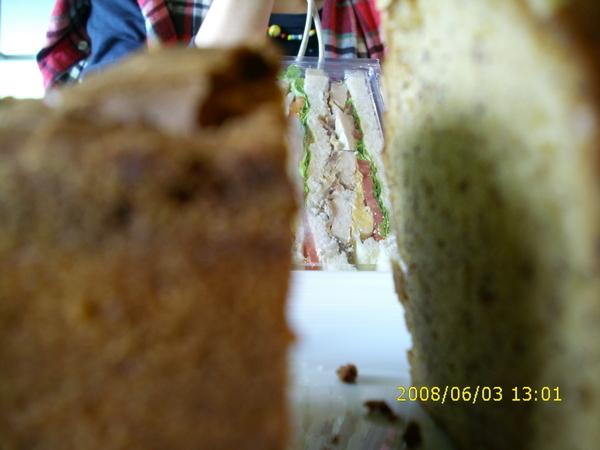 香蕉蛋糕VS三明治