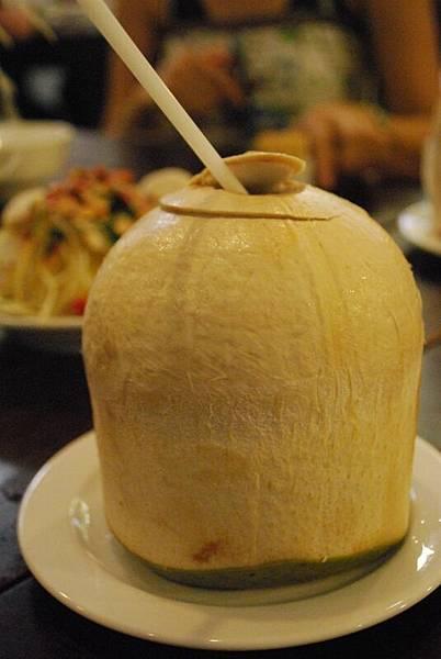 消暑又解渴的椰子汁