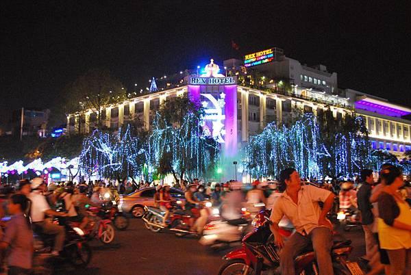 越南的街景