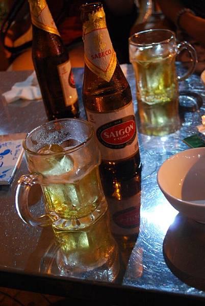 SAIGON啤酒,淡而不苦