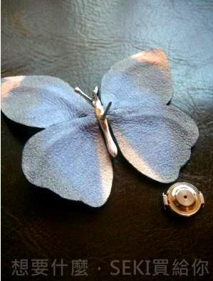 蝴蝶胸針釦針-1