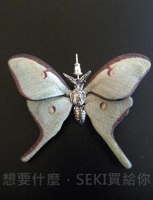 蛾耳環-1