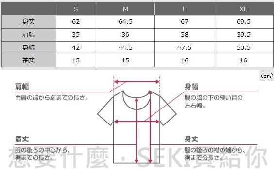 woman尺寸表