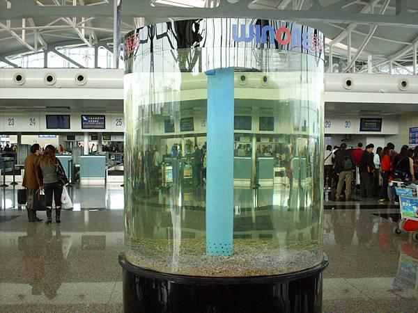 重慶機場離境大廳