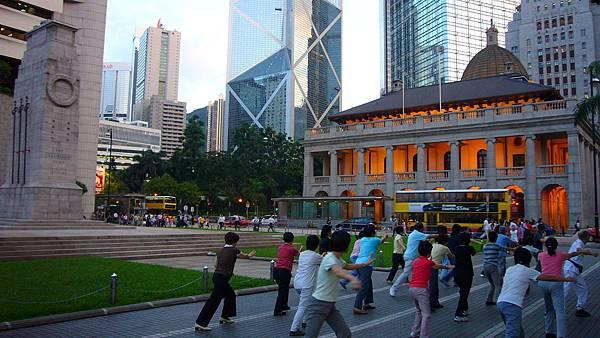 立法會廣場.香港