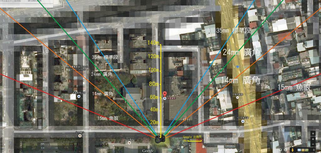衛星圖-角度標(由中心延伸放射)-01-01-01