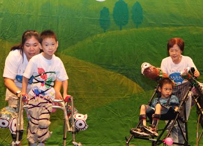 心路兒童發展中心,勇敢的腦麻孩子向前走!
